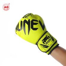 Настраиваемые мужчины и женщины Веном Боксерские перчатки для взрослых Боксерский набор Санда перчатки бинт ткань