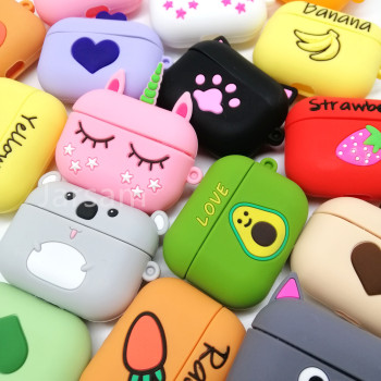 Cartoon Cute Case For Airpods Pro Case Wireless for airpods pro case Cover For AirPods pro Silicone Headphones Case Protective for airpods case 3d cartoon cute car style case for airpods 1 2 case silicone protective earphone cover for airpods pro case