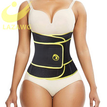 LAZAWG Sports Girdles Workout Belt Tummy Control Sweat Girdle Workout Slim Belly Band for Weight Loss Trimmer Slimmer Belt
