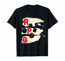 Тренд ролевые игры игра рубашка мужская футболка «геймер» подарок ролевые игры D20 футболка с изображением игральных костей 100% хлопок