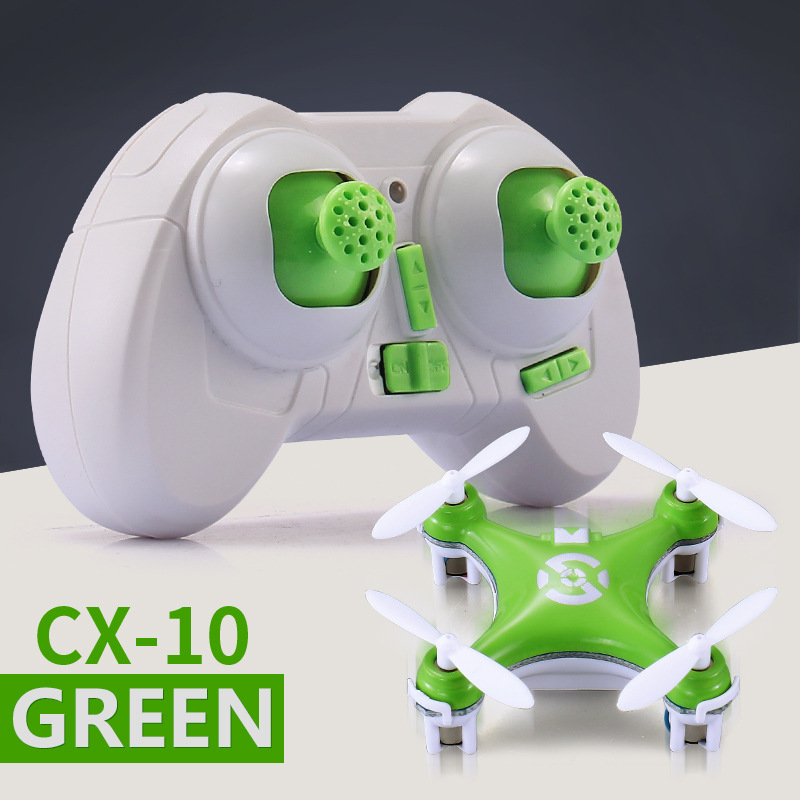 Chengxing Model Airplane 2.4G Remote Control Mini Unmanned Aerial Vehicle Quadcopter Children Plane Toy CX10