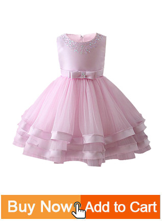 Hed4c47fd140549d1a64a130c1c1d20394 Princess Flower Girl Dress Summer Tutu Wedding Birthday Party Dresses For Girls Children's Costume New Year kids clothes