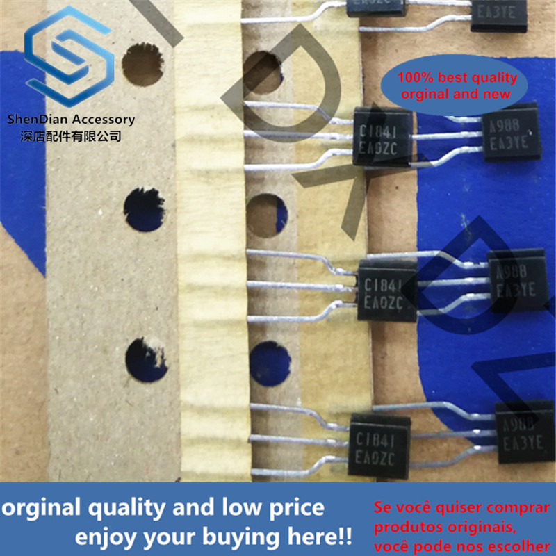 10pcs 100% New And Orginal 2SC1841E 2SA988E NPN SILICON TRANSISTOR In Stock