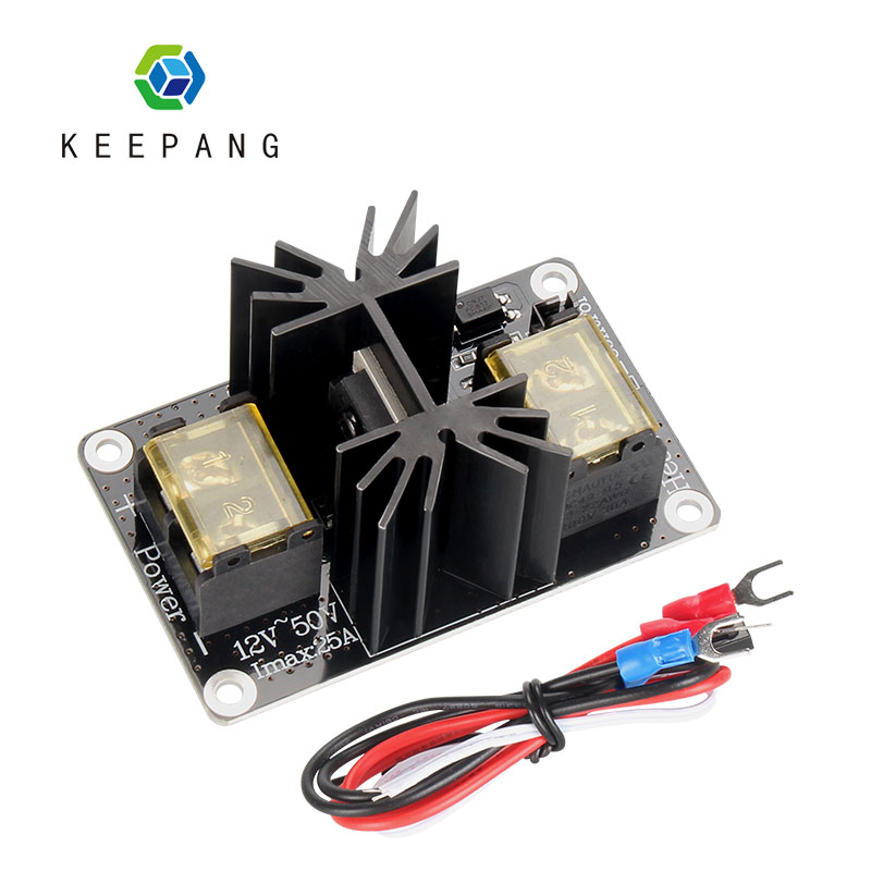 3D Printer Parts Heatbed Module MOS Tube high power Heated Bed Expansion Board High Current Load Module Mos Tube with Cables
