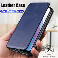 Redmi Note 8T Case Leather Book Cover for Xiaomi Redmi Note 7 8 6 5 K20 Pro 6A 8A 7A 5Plus Magnetic Flip Wallet 360 Anti Shock
