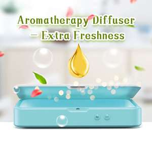 Image 5 - Multi Function Mini UV Lights Sanitizer with Aromatherapy Disinfect Cell Phones Toothbrush Mask Comestic Tool UV Sterilizer box