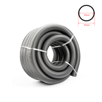 Vacuum Cleaner Thread Hose Straws Inner 38mm Outer 45mm Soft Pipes Bellows Vacuum Tube Accessories Gray