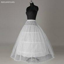 Crinoline Underskirt Prom-Petticoat Hoop Bridal-Dress Vintage Slip