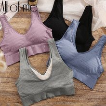 Women Tank Top Sexy Crop Tops Camisole Massage Pad Underwear Female Crop Top Backless Sleeveless Intimate Lingerie Femme Cami