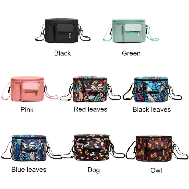 Baby Stroller Bag Organizer Bag Nappy Diaper Mummy Bag Mama Carriage Buggy Pram Cart Basket Hook Stroller Accessories