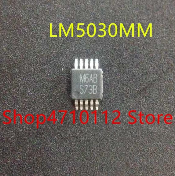 10PCS/LOT NEW LM5030MM LM5033MM  LM5033MMX LM5030MMX LM5030  S73B LM5033 SCVB  MSOP10