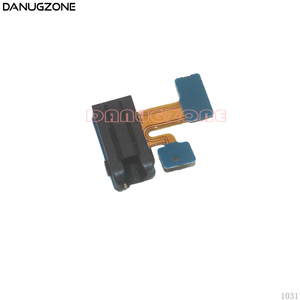 Image 1 - 10PCS/Lot For Samsung Galaxy J4 2018 J400 J400F Earphone Audio Jack Headphone Socket Headset Port Flex Cable With Microphone