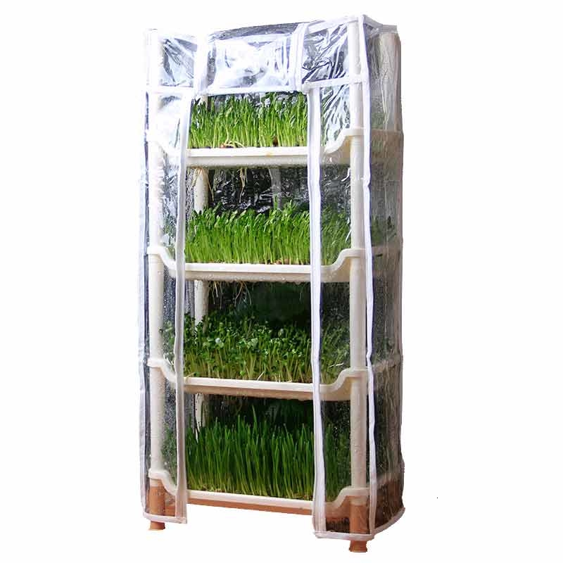 Vegetables Sprouts Grow Seedlings Disk Species Bean Sprouts Pot Bud Vegetable Seed Implant Tray Grow Seedlings Box Flower Airs