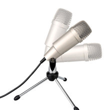 Professional USB Plug-and-play Microphone Capacitor With Tripod Stand For Singing broadcasting