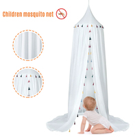 Anti Mosquito Princess Bed Canopy Cotton Baby Canopy Mosquito Net Girl Room Decoration Bed Canopys Pest Control Reject Net B4