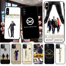 NBDRUICAI Kingsman The Secret Service Customer High Quality Phone Case for iPhone 11 pro XS MAX 8 7 6 6S Plus X 5S SE XR case(China)