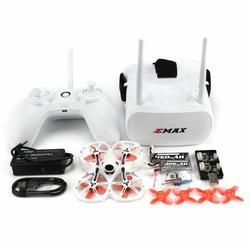 EMAX Tinyhawk II 75mm 1-2S Whoop FPV Racing Drone RTF FrSky D8 Runcam Nano2 Cam 25/100/200mw VTX 5A Blheli_S ESC