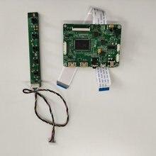 Kit para LP156WF6-SPM3/LP156WF6-SPF1 monitor mini lcd edp 1920x1080 placa de controlador micro 2 hdmi display painel led tela lcd