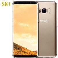 Samsung-teléfono inteligente Galaxy S8 plus G955FD, original, usado, Global, 4G LTE, 64G ROM, 12MP, Android, desbloqueado
