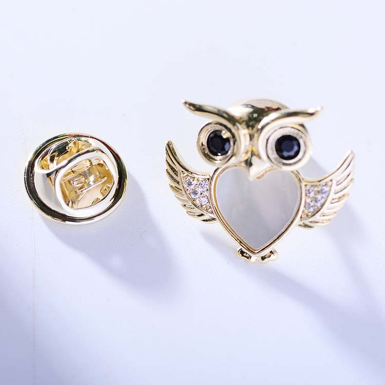 Bad Guy Zircon Brooches For Women Animal Party Causal Brooch Pin Gift Shirt Collar Pins Brooches for Women Accessories Brooch-4