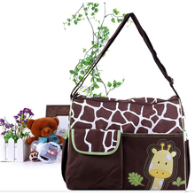 Giraffe Zebra Mummy Bag Large Capacity Multi-Function Foreign Trade Fashion Carter Diaper Mommy Hot