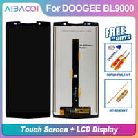 AiBaoQi 新オリジナル 5.99 インチのタッチスクリーン + 2160 × 1080 液晶ディスプレイアセンブリの交換 Doogee BL9000 アンドロイド 8.1 電話