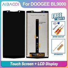 AiBaoQi nowy oryginalny 5.99 calowy ekran dotykowy + 2160x1080 wymiana montaż wyświetlacza LCD do Doogee BL9000 Android 8.1 telefon