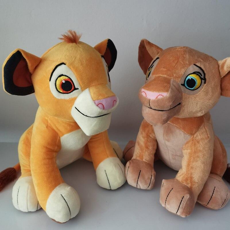 Free Shipping The Lion King Simba doll Young Simba Nala And Mufasa Stuffed Animals Plush Soft Toys Children Boy Gifts
