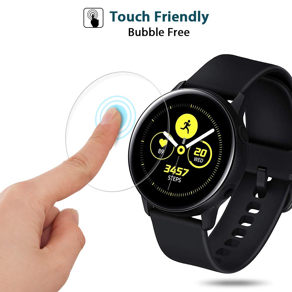 BEHUA Ultra-thin Full Active2 Cover Screen HD Protective Film For Samsung Galaxy Watch Active 2 40mm 44mm Clear Protector Film