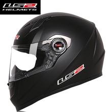 Original LS2 FF358 Full Face Motorcycle Helmet Man Motorbike Racing Casco Moto