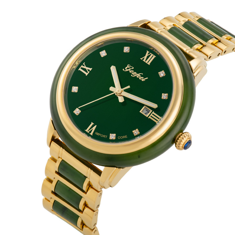 Wholesale Special Offer Direct Selling Automatic Mechanical Men's Watch Hetian Jade Watches, Watches 2020 Trill