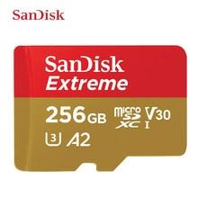 SanDisk – carte micro SD, 160 mo/s, 256 go/128 go/512 go, classe 10, U3, V30, pour vidéo 1080p, 3D, 4K