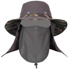 Sun Hat Summer New Fisherman Cap Sports Hat Men Women Hat Uv-Protection
