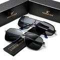 Мужские солнцезащ. Очки с поляриз. Линзами KINGSEVEN, черно-серые солнцезащитные очки с поляризованными линзами с защитой от ультрафиолета на 100%...