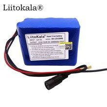 香港 LiitoKala 12V 2200mah 3000mAh 6800mah 9800mah 10ah 18650 リチウム経度 DC 12V スーパー充電式バッテリーパック充電式バッテリー