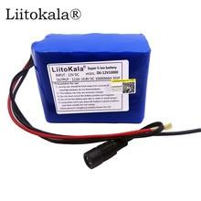 Liitokala hk liitokala 12v 2200mah, 3000mah, 6800mah, 10ah, 9800 li ion dc 12v bateria recarregável super recarregável