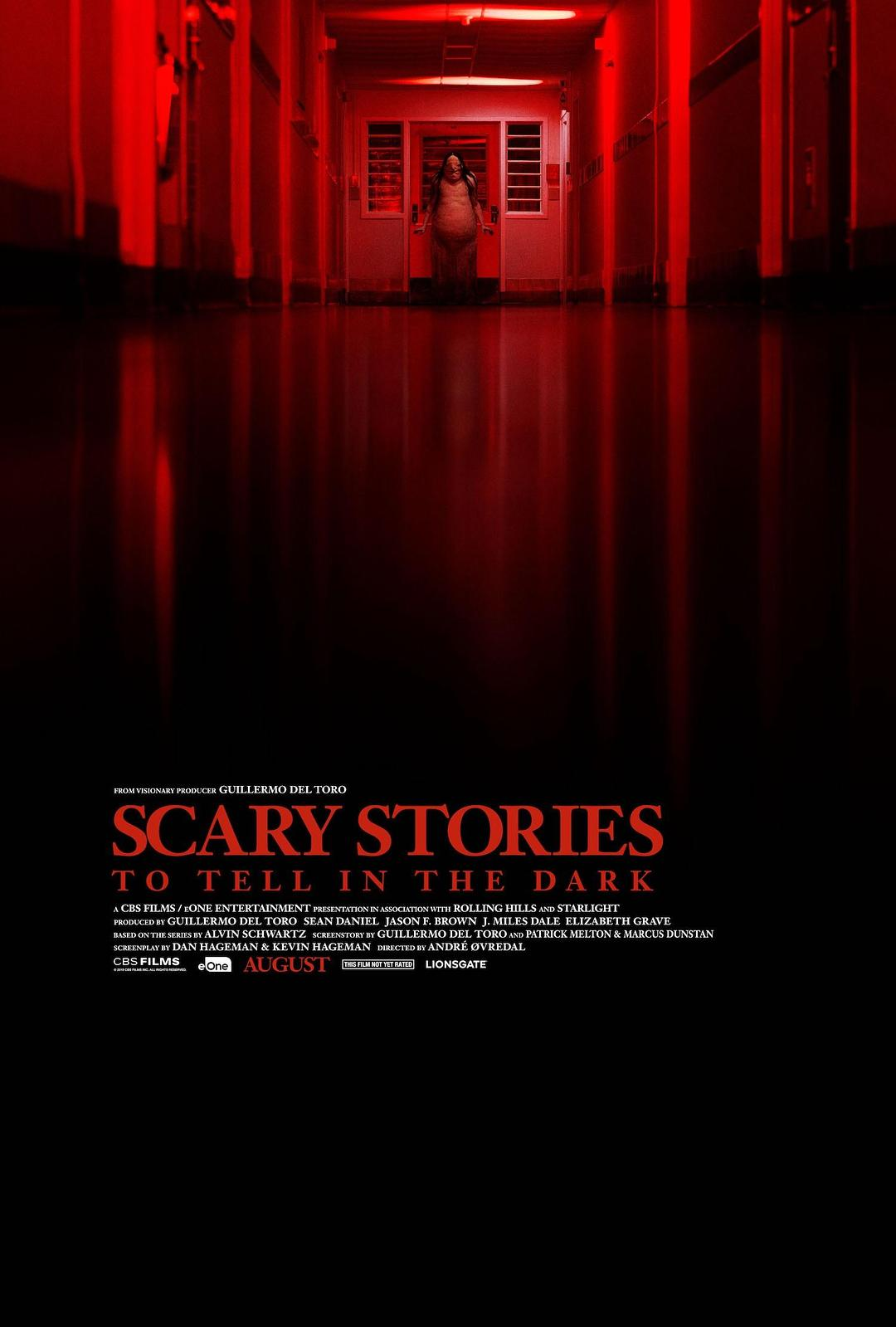在黑暗中講述的恐怖故事 Scary Stories to Tell in the Dark