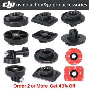 Image 1 - Ulanzi Osmo eylem kamera aksesuarları kiti Gopro adaptör montaj tutucu 3M yapıştırıcı macun Sticker Osmo için eylem
