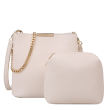 2020 Spring New Fashion Women Shoulder Bag Pu Leather Crossbody Bags For Women Luxury Designer Fashion Brand Tote Bag With Chain fashion style women s tote bag with pu leather and crocodile print design