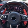 Металлический автомобильный рычаг руля для Volkswagen VW Golf 7 MK7 R GTI Scirocco 2015 2016, удлиняющий рычаг переключения передач, автомобильные аксессуары