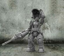 Gk figura de resina en miniatura para mujer, Guerrero de fantasía, kits en miniatura sin montar, sin pintar, 1/35