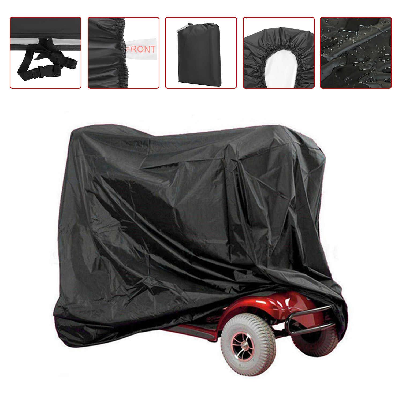 170x61x117 см 190T водонепроницаемые чехлы для скутеров, для улицы, дождя, УФ, защита от пыли D49