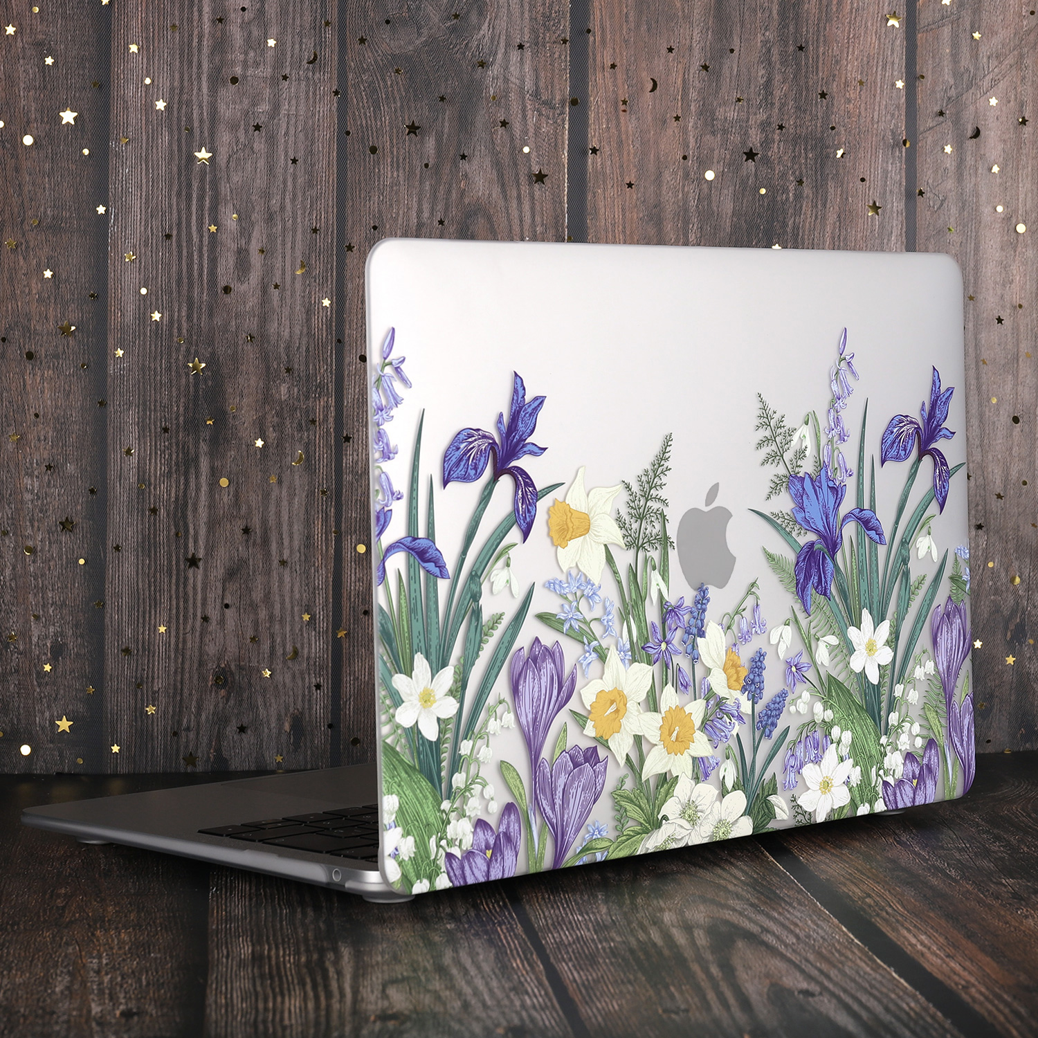 Marble Flower Pattern Case for MacBook 74