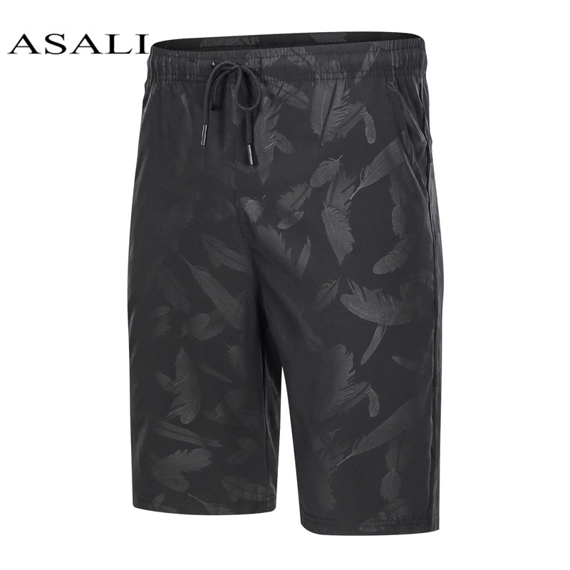 Camouflage Cargo Shorts Men Feather 2020 Summer Solid Casual Shorts Quick-Drying Mens Shorts Plus Size 4XL Beach Shorts Clothing