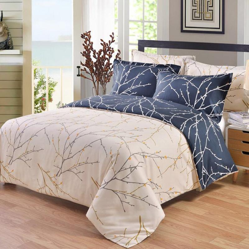 North American 3D Tree Branch Bedding Sets Twin Full Queen King Size Luxury Duvet Cover Pillowcase