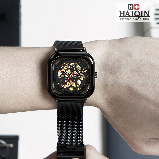 HAIQIN 8202 luxury Square Mechanical