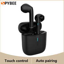 New Wireless Headphones True Stereo Bluetooth Earphones Touch Control Auto Pairing HiFi Sound Headset With Microphone