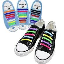 16Pcs NoTie Elastic Shoelaces Silicone Men Women Shoes Rubber Shoelace Shoes Acc