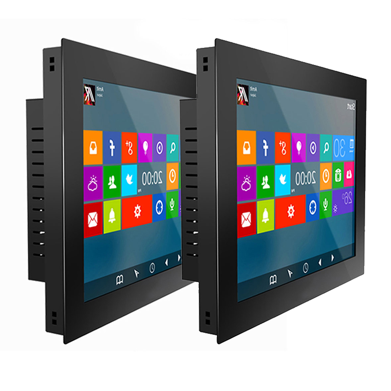 23.6″ Industrial Tablet PC Intel J1900 Desktop All in one PC 21.5 inch Resistive Touch Screen For Windows 10 pro WiFi RS232 com
