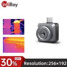 Infiray t2l câmera de imagem térmica termômetro infravermelho imager detecção industrial câmera de imagem para o telefone móvel android